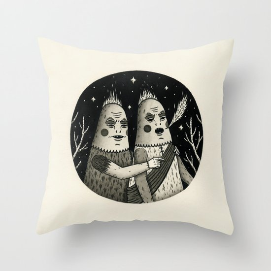 Just an Observation Throw Pillow