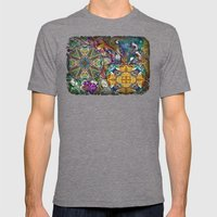 His Glory Mens Fitted Tee Tri-Grey SMALL