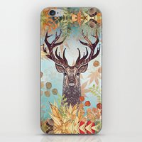 THE FRIENDLY STAG iPhone & iPod Skin