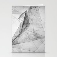 triangle Stationery Cards featuring triangle by Katekima