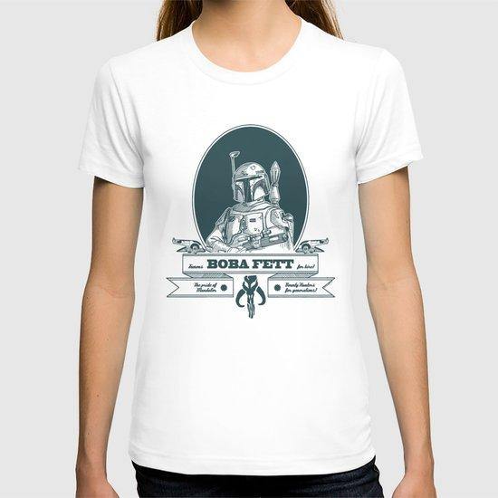 Famous Boba fett for hire! T-shirt
