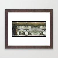 Desert Abyss 3 Framed Art Print