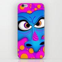 The Blue Dragon iPhone & iPod Skin
