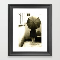 Umbrella  Framed Art Print