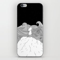 I wonder what is on the other side. iPhone & iPod Skin