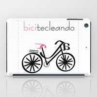 Bicitecleando iPad Case