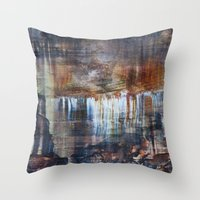 Pictured Rocks Collage Throw Pillow
