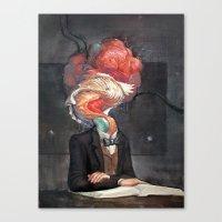 Mutant Scholar Canvas Print