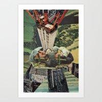 Building A City Art Print