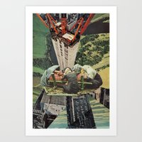 Building A City Art Print