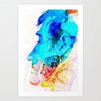 Anatomy Quain V2 Art Print