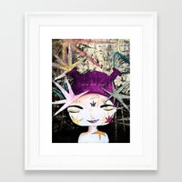Solar Love Framed Art Print