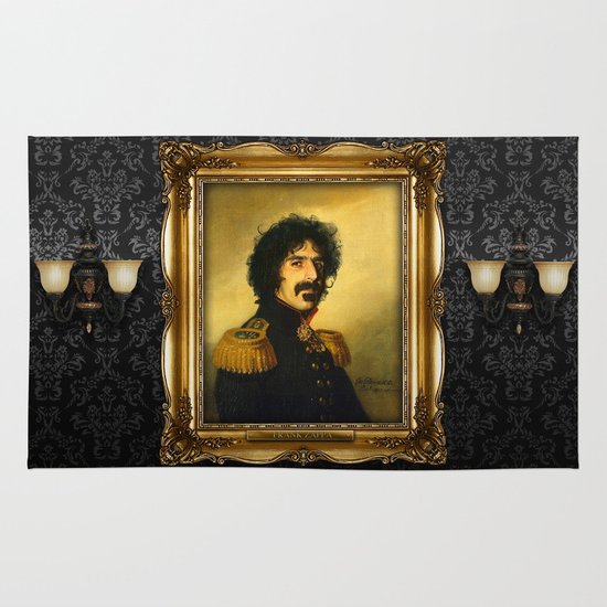 Frank Zappa - replaceface Area & Throw Rug