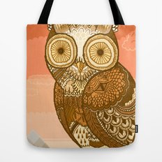 Owlie in Autumn Tote Bag