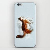 Calico Cat On Canvas iPhone & iPod Skin