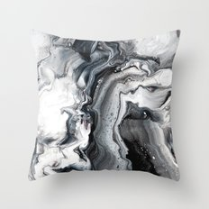 Marble in the Water Throw Pillow