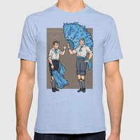 An Impromptu Surprise Mens Fitted Tee Tri-Blue SMALL