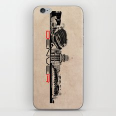 Denver Skyline City iPhone & iPod Skin