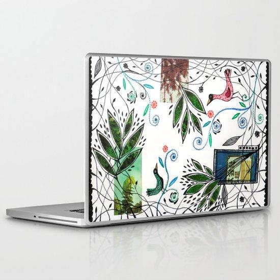 Through the jungle web Laptop & iPad Skin