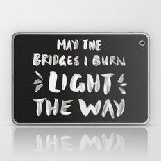 Burned Bridges – Black… Laptop & iPad Skin