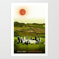 The Rite Of Spring - Str… Art Print