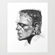 Boris Karloff - Frankenstein's Monster Art Print