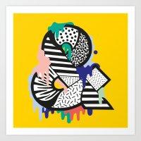 &. Art Print