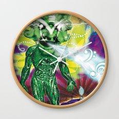 Poster El Mundo Wall Clock