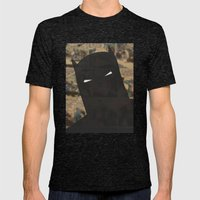 Darkest Knight Mens Fitted Tee Tri-Black SMALL