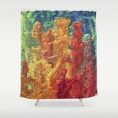 Castle Block Shower Curtain