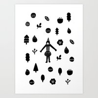 Little Forest  Art Print
