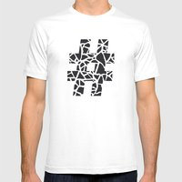 Hashtag Mens Fitted Tee White SMALL