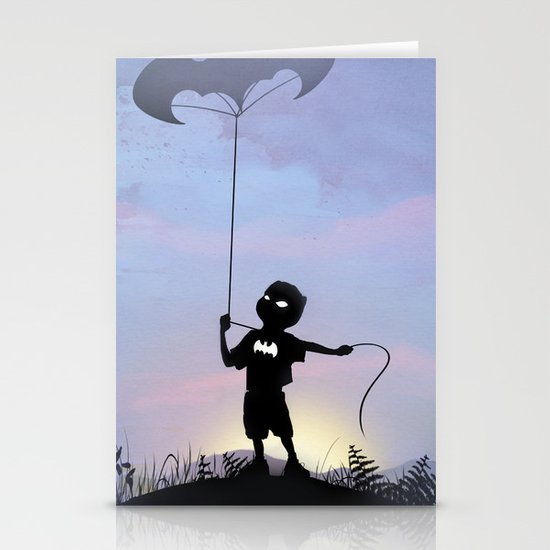 Bat Kid Stationery Card