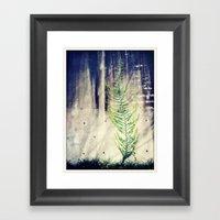 Climbing Walls Framed Art Print