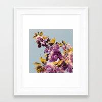 Vintage Blooms Framed Art Print
