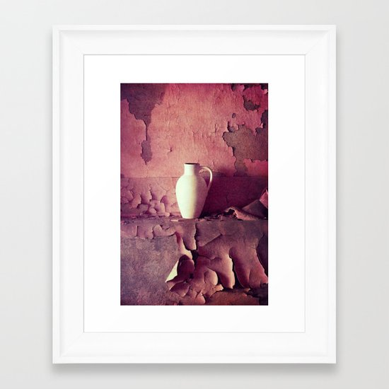 nice wall Framed Art Print