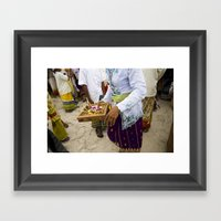 Nyepi Framed Art Print