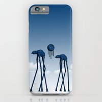 Dali's Mechanical Elephants - Blue Sky iPhone 6 Slim Case