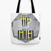 Up Down Type Tote Bag