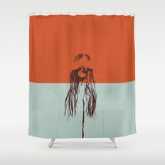 Woman Color 2 Shower Curtain