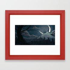 A Goodnight for Dreams Framed Art Print