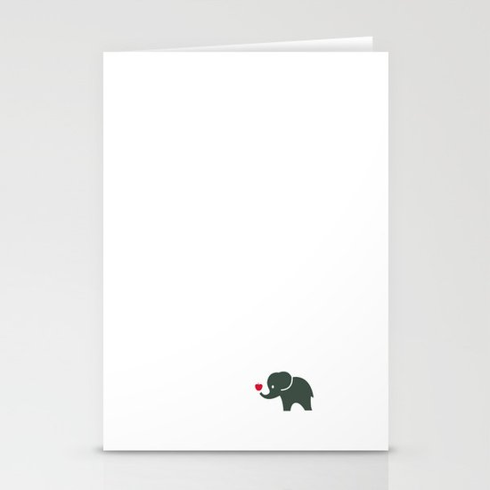 Elliefant Stationery Card
