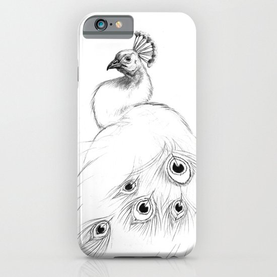 Peacock  SK097 iPhone & iPod Case
