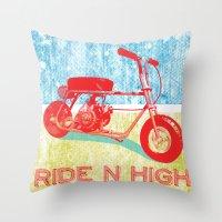 Ride N' High Throw Pillow