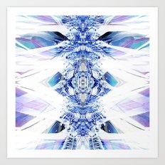 Crystal Mesh Art Print