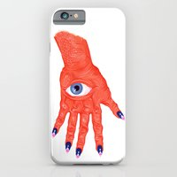 All-Seeing Nails iPhone 6 Slim Case