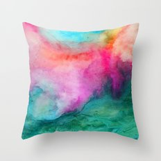 Staring at the Ceiling Throw Pillow
