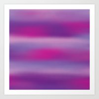 Purple Mist. Art Print