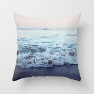 Throw Pillow featuring Crash Into Me by Leah Flores