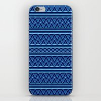 3D Chevrons And Lines In… iPhone & iPod Skin